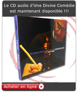 CD audio Une Divine Comédie de Christophe Mauro